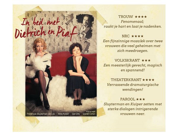 In Bed met Dietrich en Piaf